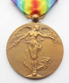 Interallied Victory Medal (Belgium) in very nice condition! - first world war