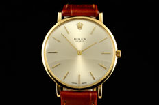 Rolex - Geneve Yellow Gold - 18K - Heren