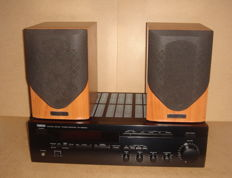 Yamaha Tuner/amplifier Type RX-485RDS with Mission M30 Speakers
