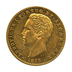 Portugal Monarchy – D. Luis I – 2.000 Réis 1878 – Gold