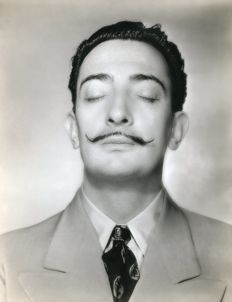 Horst P. Horst (1906-1999) - Salvador Dali, dream Moustache, 1943