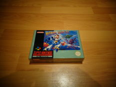 "Super Nintendo ""Mega Man X"" Fully complete and in very nice condition"