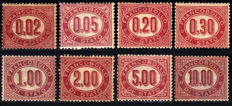Kingdom of Italy 1875/1941- Services - 5 complete series - Sassone No. s.1600, s.1700, s. 1904, s.2103, s.2306