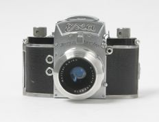 EXA Ihagee Dresden with E. ludwig Meritar 2.9/50mm approx. 1959