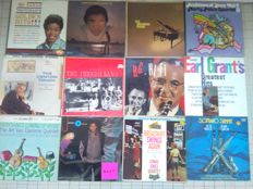 Mixed lot of 12 vintage American Jazz LP's vinyl records