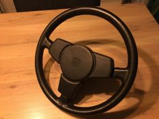 Porsche leather steering wheel - 70s/80s
