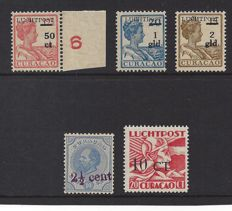 Curaçao 1929/1934 - Selection -  NVPH 24, LP1/LP3 and LP17