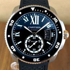 Cartier Calibre Ref. 3729 Diver´s Automatic - Watch Men´s -2014