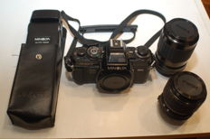 Minolta X700 with Sigma lenses