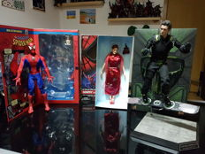 Set Spiderman: Spiderman, Green Goblin and Mary Jane
