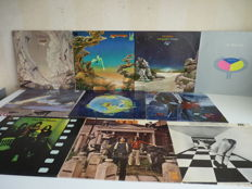 Great Progressive / Art  Rock Lot with 10 YES albums.  An almost complete survey from the 1st album of 1969 till  the 1983 album