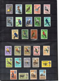 Thematic - Nature, Fauna, flora and minerals collection with series and blocks.