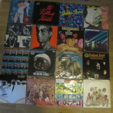 Rolling Stones - lot of 16 LP records