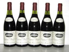 1984 Pommard 1° Cru Chanlains - Domaine Bernard Delagrange – Lot of 5 bottles