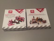 LEGO Certified Professionals - Dirk Denoyelle (Amazings) - 200 years Antwerp Fire Department  2 sets