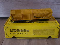 Lux modellbau H0 - 9010 - Track cleaning car