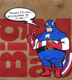 Truteau - Big Captain America