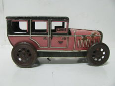 Rico, Spain - Length 13,5 cm - Tin wind-up Madrid Taxi, 1930s