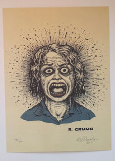 Robert Crumb - Limited Edition Numbered & Signed Print + Collection of Crumb Hardback