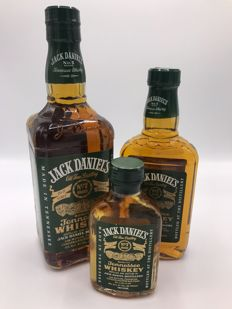 Jack Daniel's Green label set - very hard to find - 3 sizes - 100-375-750ml