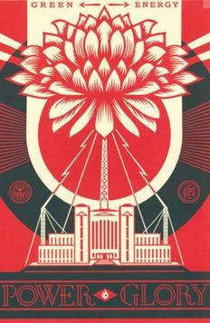 Shepard Fairey - Green Power