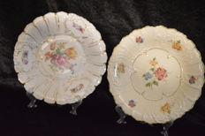 2 large ceremonial plates - Bavaria and Rehau