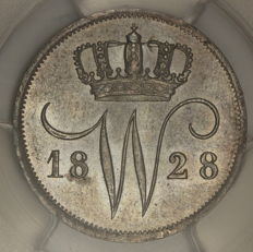 The Netherlands - 10 cent 1828 Utrecht Willem I - silver