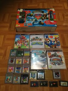 5 PS3 games + 36 games Game Boy Skylanders PS3