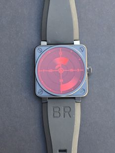 Bell & Ross - UNWORN BELL & ROSS 2011 RED RADAR LIMITED EDITION - BR0192RedRadar - Men - 2011-present