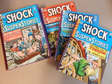 The Complete Shock Suspenstories - 3x hc in box - (1981)
