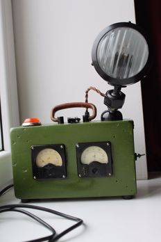 Unknown desinger - military style table lamp