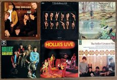 "Hollies: lot of six original lp's ""Bus stop"" ""Moving finger"" ""Romany"" ""Hollies' greatest (UK)"" ""Hollies live"" ""Hollies gretest hits (US)"""
