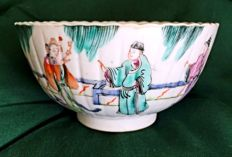 Hand-painted porcelain bowl - Chine - 19th century