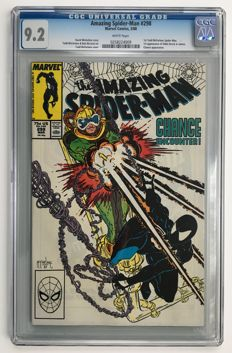 Marvel Comics -The Amazing Spider-Man #298 - 1st issue from Todd McFarlane's legendary run - CGC Graded 9.2!! - 1x sc - (1988)