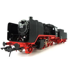 "Gauge 0 - Lenz - 40240 - 01 - Steam locomotive with tender Series BR 24 ""Steppes Horse"" of the DB"