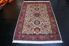 Persian carpet, Sarough, approx. 198 x 135 cm, Iran, recently cleaned