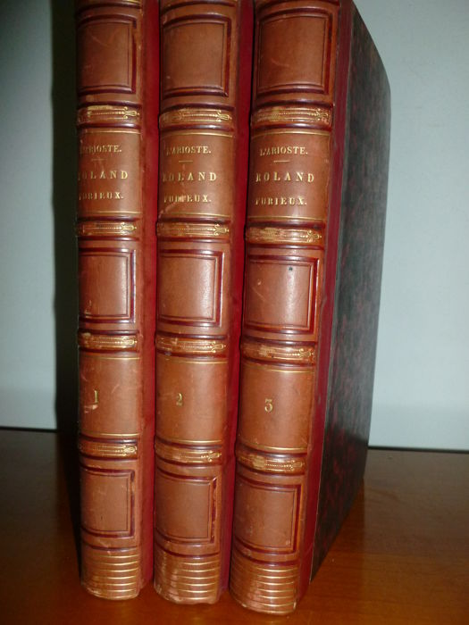 M.A. Mazuy - Roland Furieux - 3 volumes - 1839