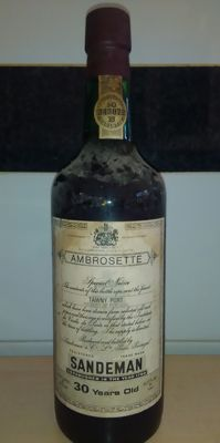 30 years old Tawny Port Sandeman - bottled in 1981