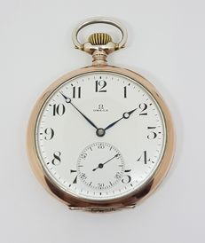 Silver Omega- Pocket Watch Circa -1905