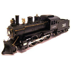 Pocher Rivarossi H0 - 808/2L/PO - Locomotivă cu Abur cu tender - 4-6-0 Casey Jones - Illinios Central R.R.