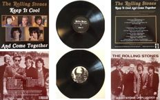 "The Rolling Stones Lot Of Two LP's With Loads Of Rarities Incl Beatles Cover ""Come Together"" !  -  NM- Vinyl !!"