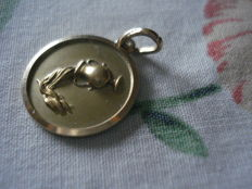 Pendant in 18 kt gold