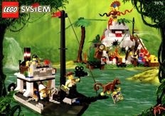 Lego Adventures Jungle - 5976 - River Expedition