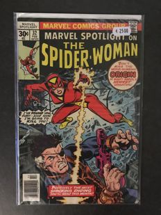 Collection Of x 18 SC Vintage Comics - Including 1st Appearance of Spider-Woman, Journey into Mystery, Marvel Two-in-One + More - Marvel Comics