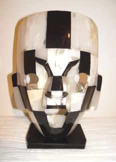 Mexican Onyx mask