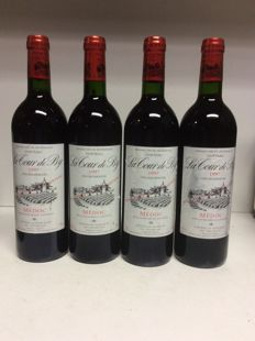 1997 Chateau La Tour de By Cru Bourgeois, Medoc, France - 4 bottles 0,75l