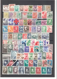 Netherlands 1924/1937 - Collection series and stamps
