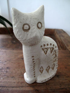 Aldo Londi for Bitossi Ceramics - Sitting Cat