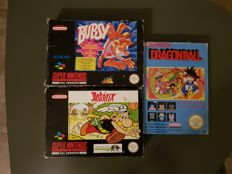 3 Games Nintendo Nes and Snes - Games like Nes Dragonball