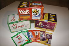 Panini Euro 2008 Austria Switzerland + Euro 2012 Poland Ukraine + World Cup 2010 South Africa - 3 original boxes in Factory seal + 6 packets